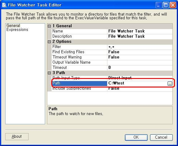 File system watcher ssis training